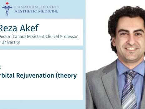 Reza Akef, Injectables, CBAM, Botox, Filler, Cadaver, Lab, Education, Master, Basic, Advance