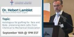 Dr. Lamblet, CBAM, Stem Cell therapy, Autologous Fat, Fat Grafting