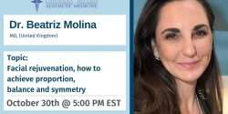 Facial rejuvenation, how to achieve proportion, balance and symmetry, r. Beatriz Molina, botox, filler, injection, aesthetic medicine, injection, courses,