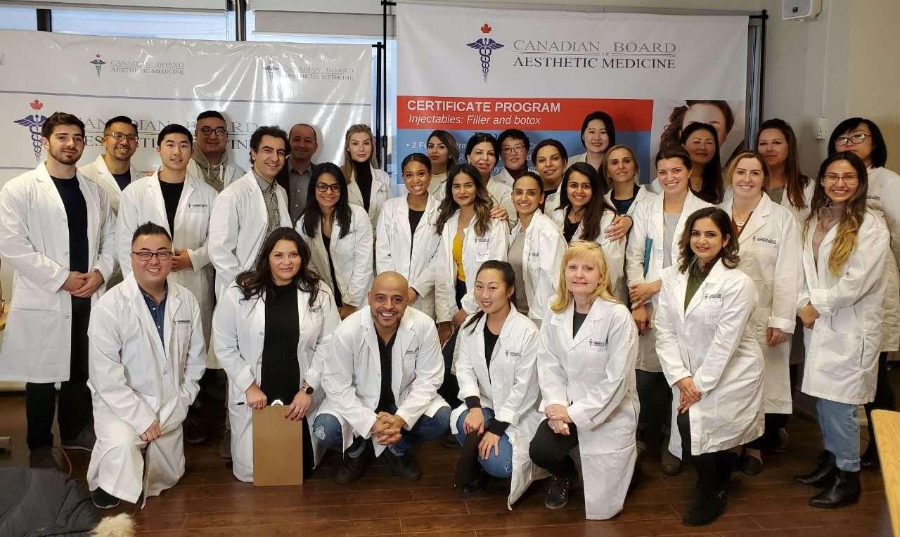 CBAM Injectables, Botox and Filler Course, Botox training, Filler training