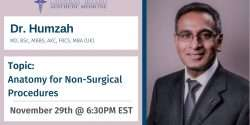 Dr. Humzah, Injectables, CBAM, Botox, Filler, Cadaver, Lab, Education, Master, Basic, Advance