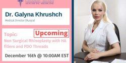Galyna Khrushch, Injectables, CBAM, Botox, Filler, Cadaver, Lab, Education, Master, Basic, Advance
