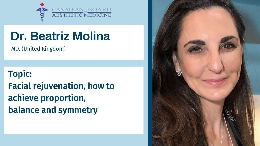 Dr. Beatriz Molina CBAM, Webinar, Aesthetic Gynecology, G spot augmentation, laser and prp