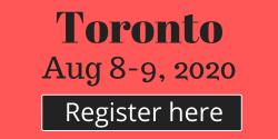 Aug 8-9 Toronto