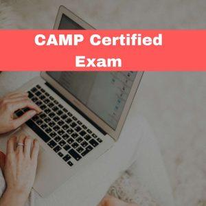 CAMP Certified Exam